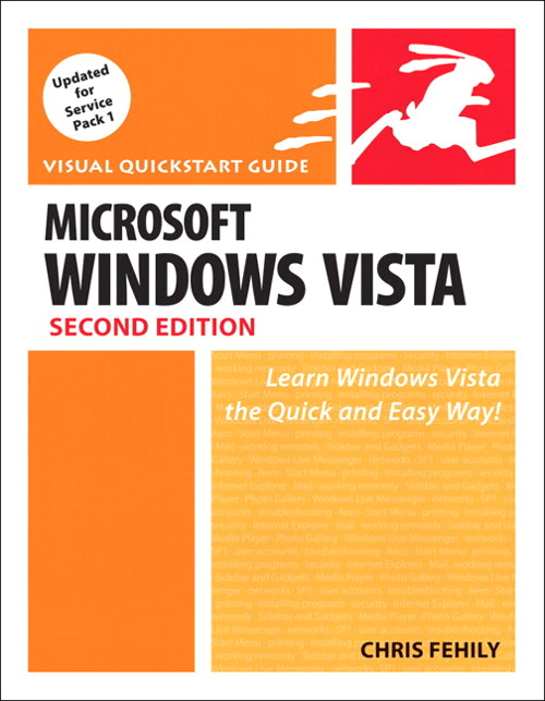 Microsoft Windows Vista: Visual QuickStart Guide, Safari, 2nd Edition