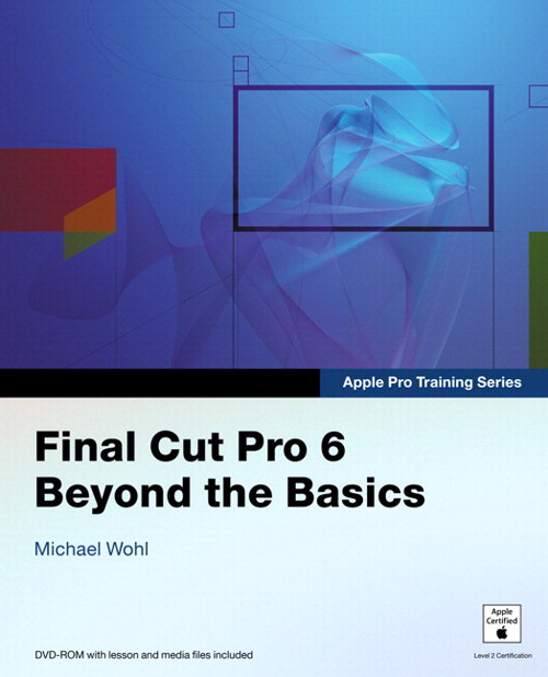 Apple Pro Training Series: Final Cut Pro 6: Beyond the Basics, Safari