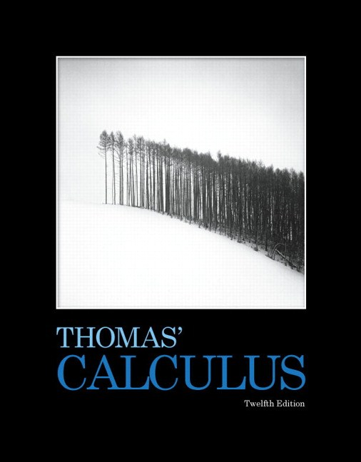 Thomas' Calculus, 12th Edition