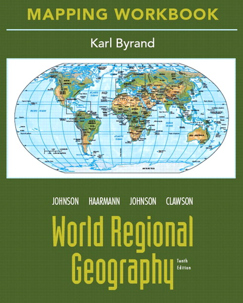 Cover image for Mapping Workbook for World Regional Geography, 10th Edition