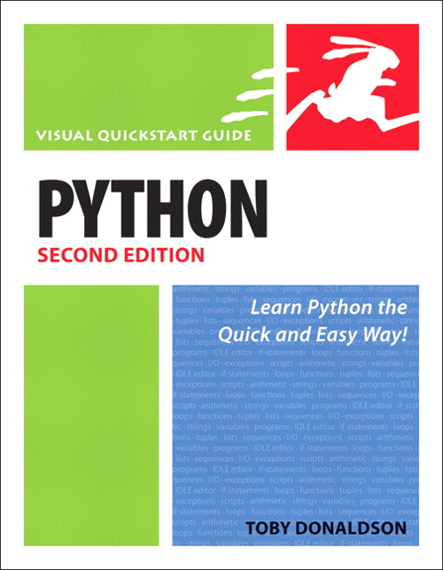 Python: Visual QuickStart Guide, Safari, 2nd Edition