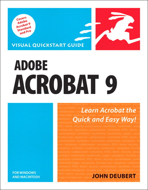 Adobe Acrobat 9 for Windows and Macintosh: Visual QuickStart Guide, Safari