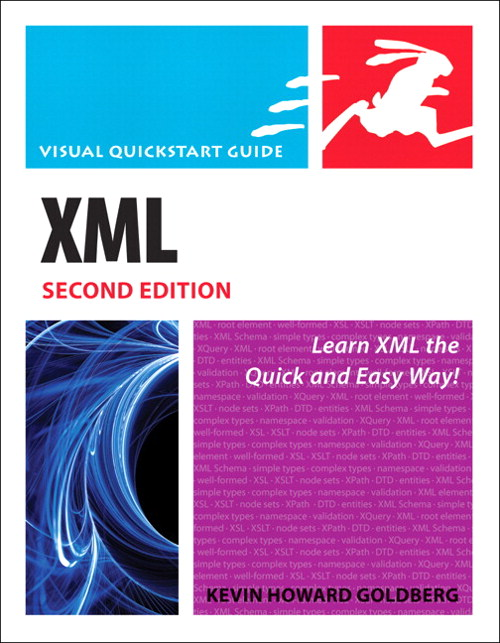 XML: Visual QuickStart Guide, Safari, 2nd Edition