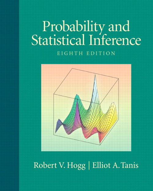 Probability and Statistical Inference, CourseSmart eTextbook, 8th Edition