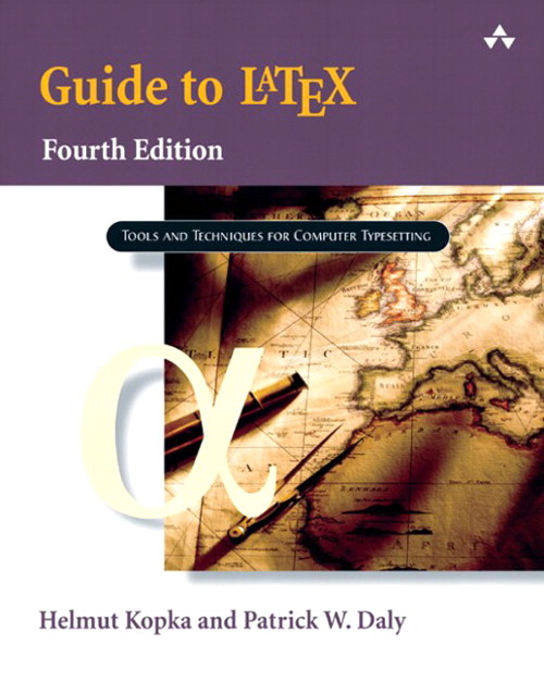 Guide to LaTeX, Safari, 4th Edition