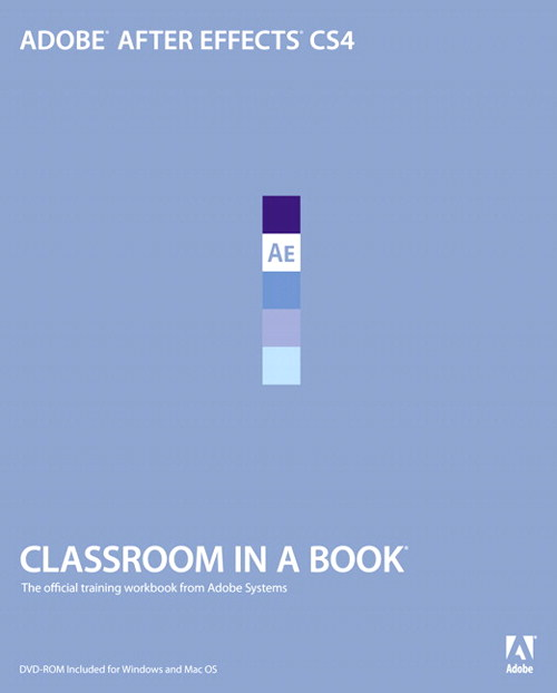 Adobe After Effects CS4 Classroom in a Book, Safari