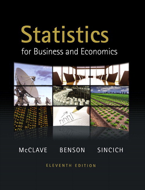 Statistics for Business and Economics, CourseSmart eTextbook, 11th Edition