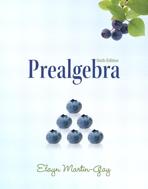 Prealgebra, CourseSmart eTextbook, 6th Edition