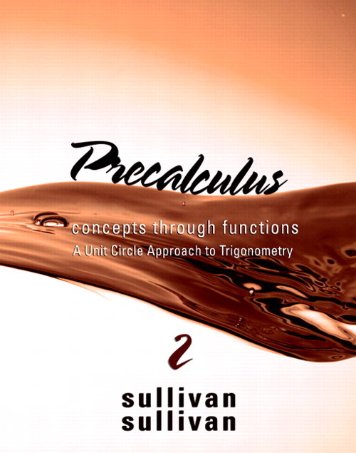 Precalculus: Concepts Through Functions, A Unit Circle Approach to Trigonometry, CourseSmart eTextbook, 2nd Edition