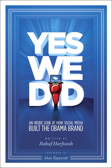 Yes We Did! An inside look at how social media built the Obama brand, Safari