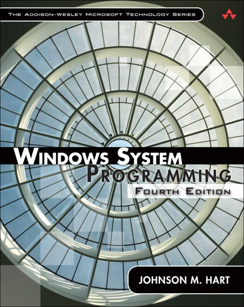 Windows System Programming, Safari, 4th Edition