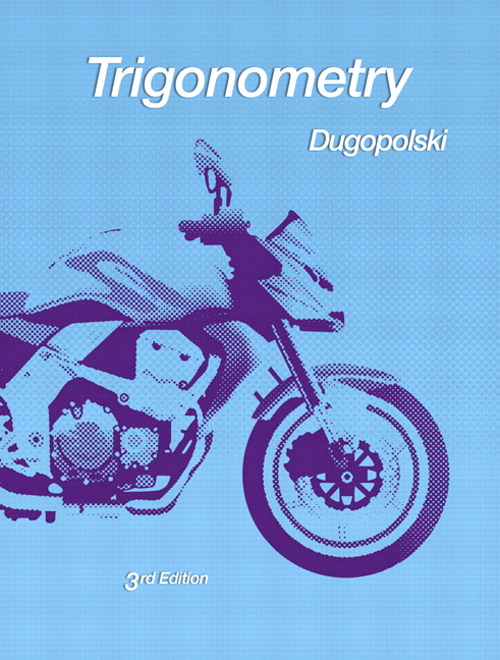 Trigonometry, CourseSmart eTextbook, 3rd Edition