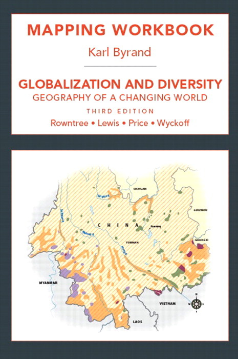 Cover image for Mapping Workbook for Globaization and Diversity: Geography of a Changing World, 3rd Edition