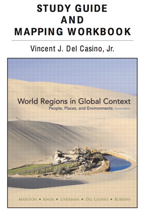 Cover image for Study Guide and Mapping Workbook for World Regions in Global Context: People, Places, and Environments, 4th Edition