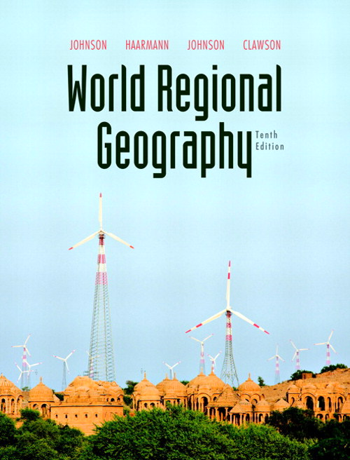 World Regional Geography, CourseSmart eTextbook, 10th Edition