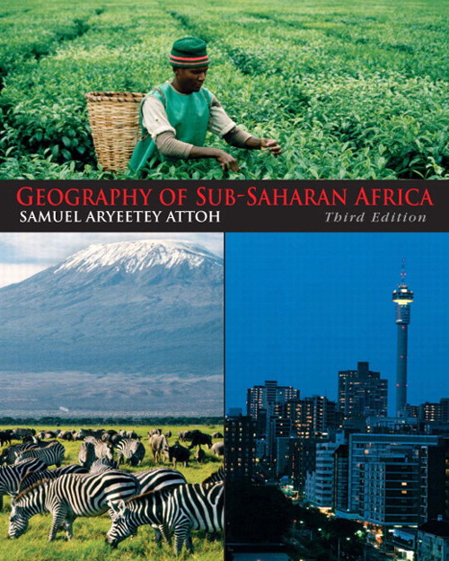 Geography of Sub-Saharan Africa, CourseSmart eTextbook, 3rd Edition
