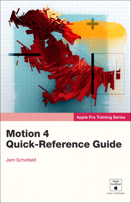 Apple Pro Training Series: Motion 4 Quick-Reference Guide, Safari