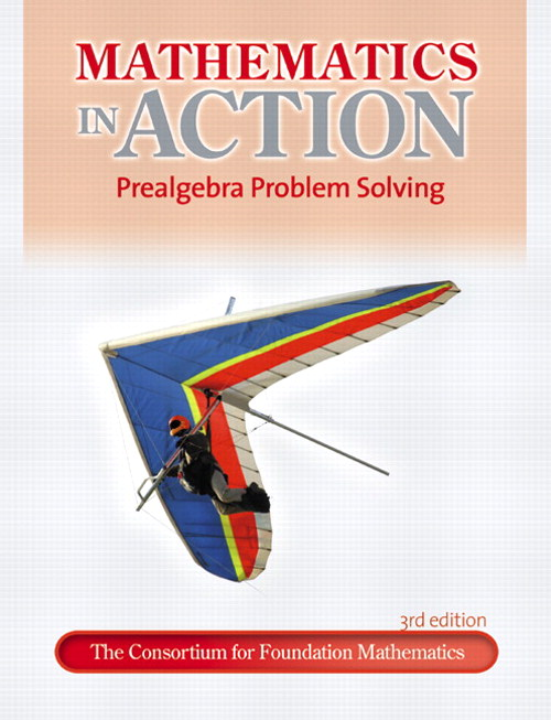 Math in Action: Prealgebra, CourseSmart eTextbook, 3rd Edition