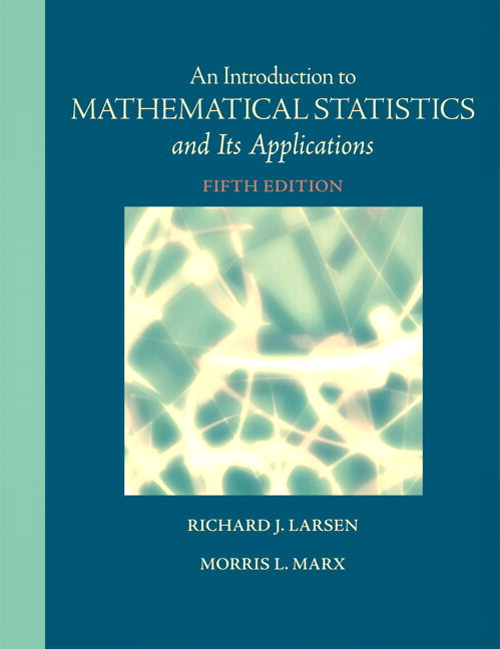 Introduction to Mathematical Statistics and Its Applications, CourseSmart eTextbook, 5th Edition