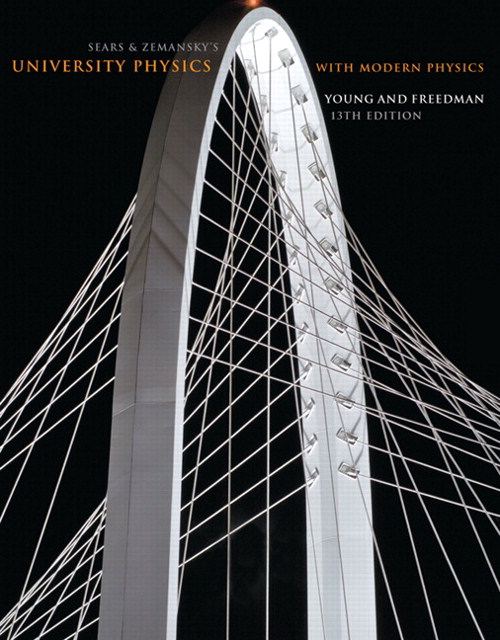 University Physics with Modern Physics, 13th Edition