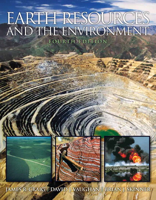 Earth Resources and the Environment, CourseSmart eTextbook, 4th Edition