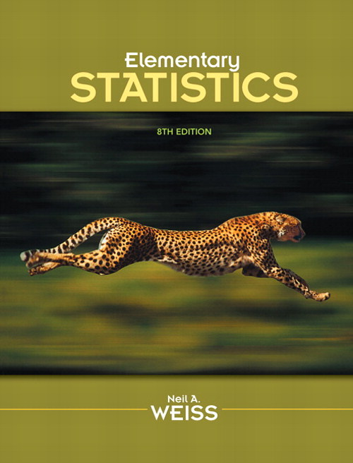 Elementary Statistics, CourseSmart eTextbook, 8th Edition