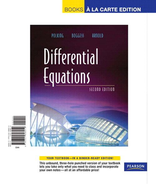 Differential Equations, Books a la Carte Edition, 2nd Edition