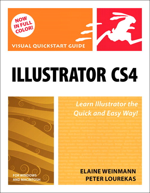 Illustrator CS4 for Windows and Macintosh: Visual QuickStart Guide, CourseSmart eTextbook
