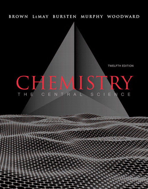 Chemistry: The Central Science, CourseSmart eTextbook, 12th Edition