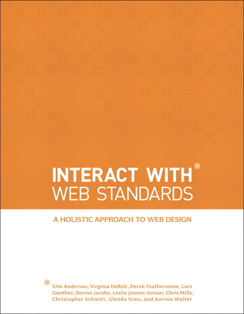 InterACT with Web Standards: A holistic approach to web design, Safari