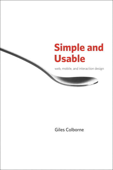 Simple and Usable Web, Mobile, and Interaction Design, Safari
