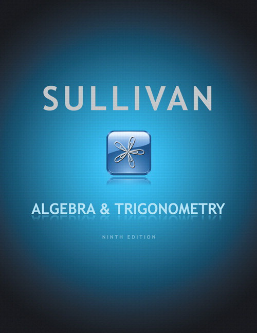 Algebra and Trigonometry, 9th Edition