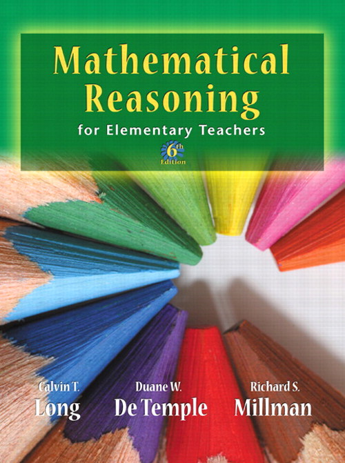 Mathematical Reasoning for Elementary School Teachers, CourseSmart eTextbook, 6th Edition