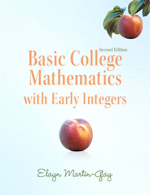 Basic College Mathematics with Early Integers, 2nd Edition