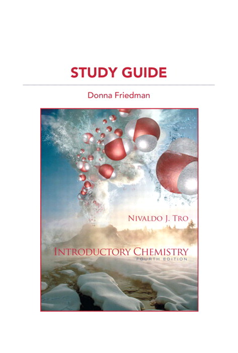 Cover image for Study Guide for Introductory Chemistry, 4th Edition
