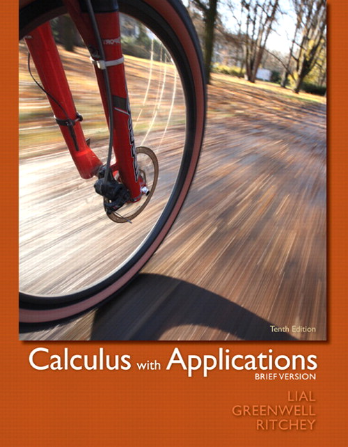 Calculus with Applications, Brief Version, 10th Edition