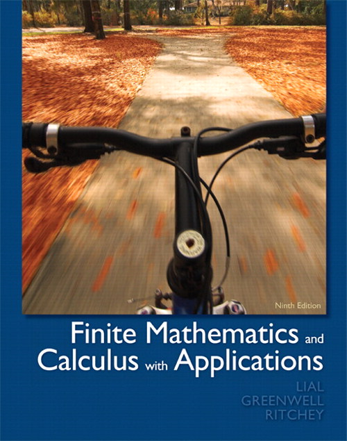 Finite Mathematics and Calculus with Applications, 9th Edition