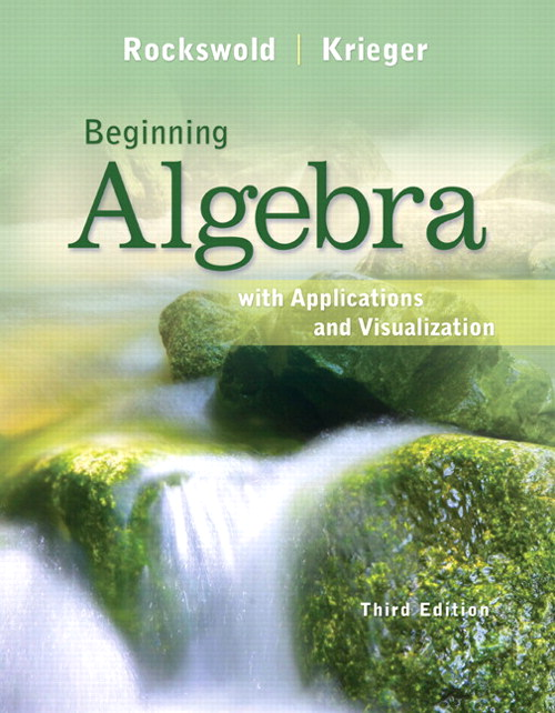 Beginning Algebra with Applications & Visualization, CourseSmart eTextbook, 3rd Edition