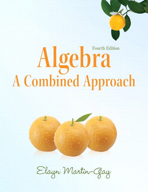 Algebra: A Combined Approach, CourseSmart eTextbook, 4th Edition