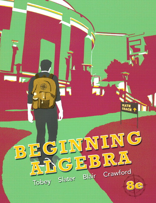 Beginning Algebra, CourseSmart eTextbook, 8th Edition