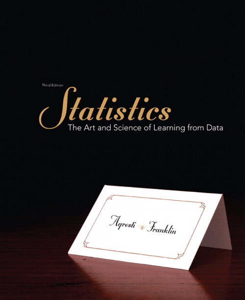Statistics: The Art and Science of Learning from Data, CourseSmart eTextbook, 3rd Edition