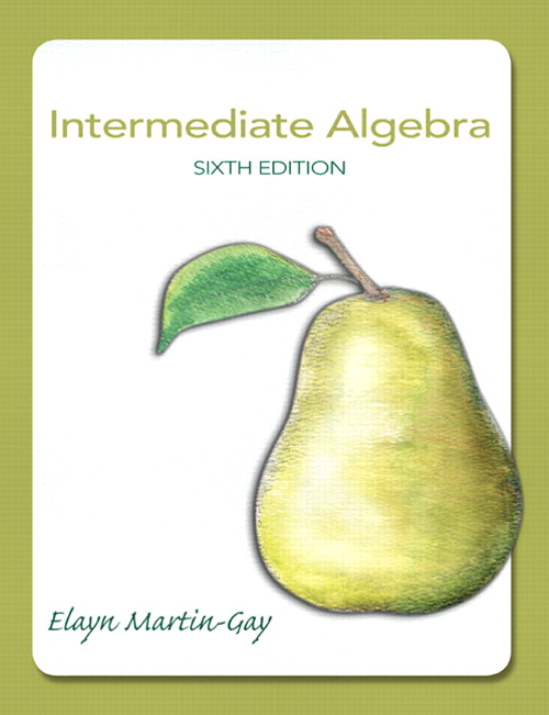Intermediate Algebra, CourseSmart eTextbook, 6th Edition
