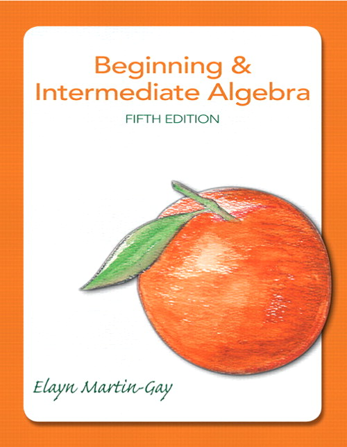 Beginning & Intermediate Algebra, CourseSmart eTextbook, 5th Edition