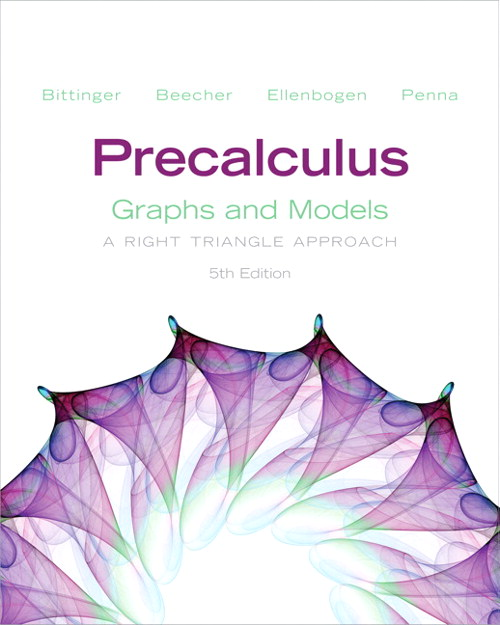 Precalculus: Graphs and Models, CourseSmart eTextbook, 5th Edition