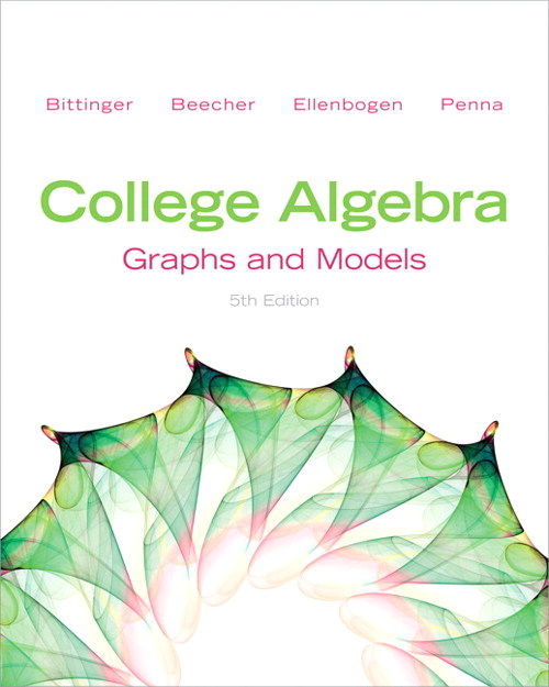 College Algebra: Graphs and Models, CourseSmart eTextbook, 5th Edition