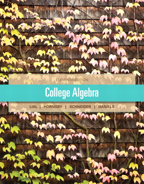 College Algebra, CourseSmart eTextbook, 11th Edition