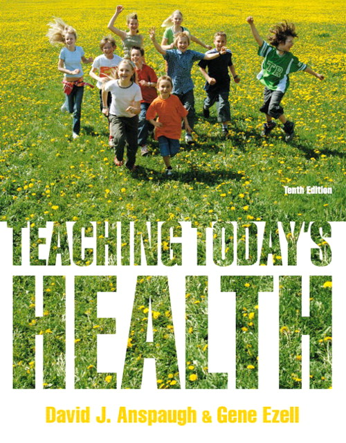 Teaching Today's Health, CourseSmart eTextbook, 10th Edition