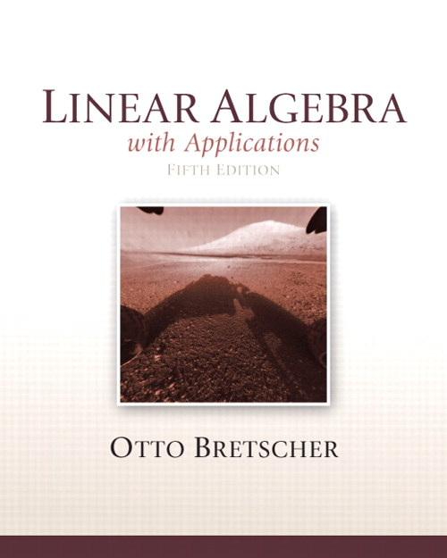 Linear Algebra with Applications, CourseSmart eTextbook, 5th Edition