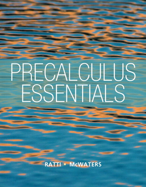 Precalculus Essentials, CourseSmart eTextbook