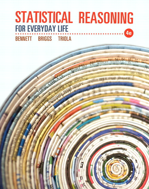 Statistical Reasoning for Everyday Life, CourseSmart eTextbook, 4th Edition